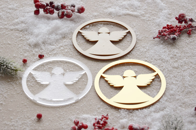 Christmas Angel Coasters