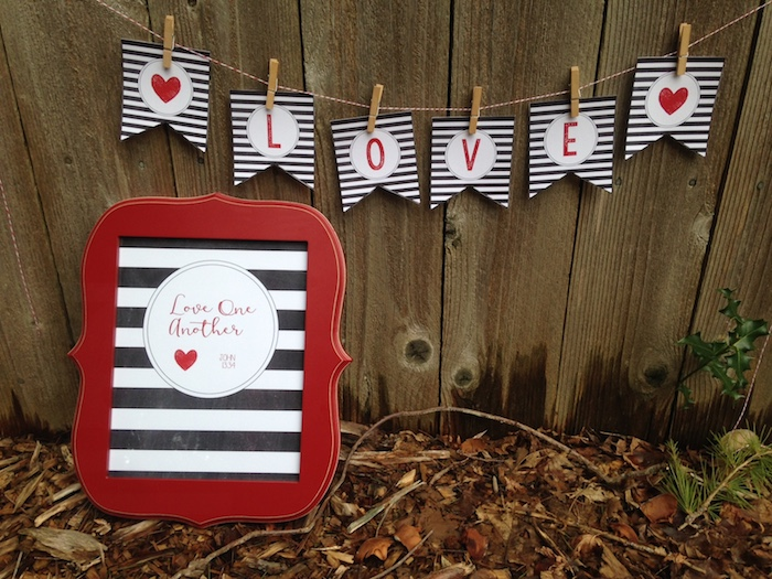 Love-banner-&-Love-one-another-printable-free