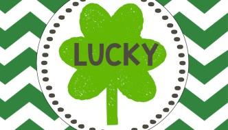 Saint Patrick's Day Lucky Free Printables & Blessed Bonus Prints