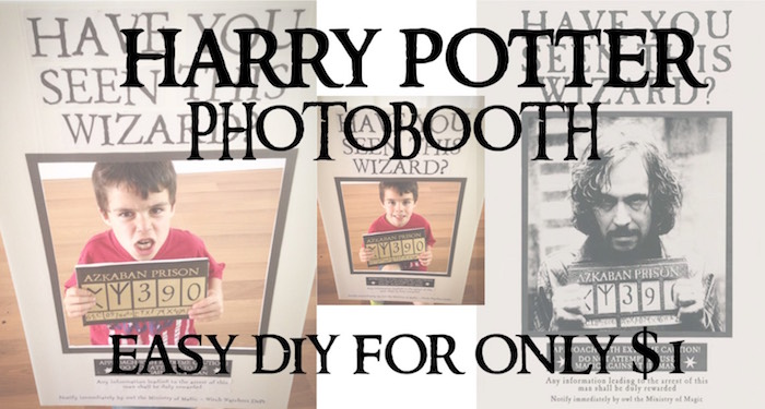 photo regarding Printable Poster Board named Harry Potter Occasion Photobooth Uncomplicated Do it yourself - Paper Path Style and design