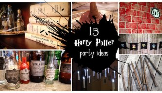 Harry Potter party ideas for easy decor. Throw an amazing Harry Potter birthday party like you are a Wizard from Hogwarts.
