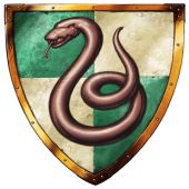Slytherin-crest