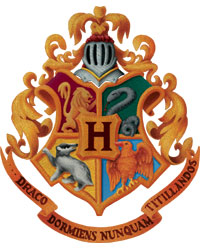 graphic regarding Harry Potter House Badges Printable called Harry Potter Hogwarts Space Banners Do-it-yourself - Paper Path Style and design