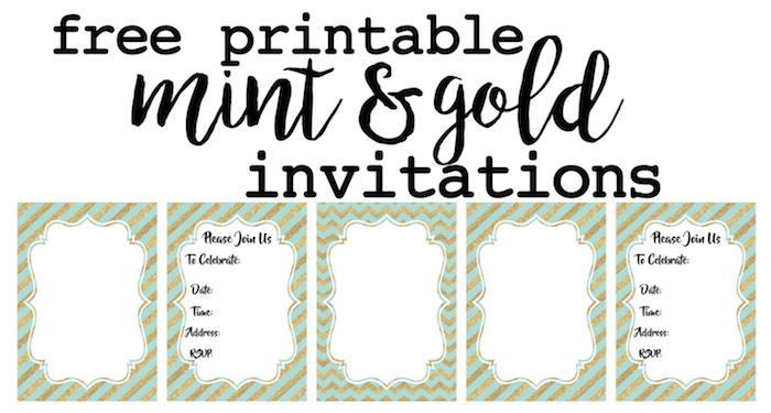 customizable invitations free printable Josemulinohouseco
