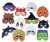 Halloween-foam-masks
