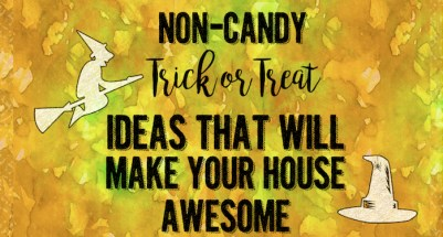 Non-Candy Halloween Trick or Treat Ideas {Halloween Candy Alternatives}. Great ideas for what to give to trick or treaters besides candy.