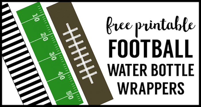 photograph regarding Free Printable Football identify Soccer Drinking water Bottle Labels Free of charge Printable - Paper Path Layout