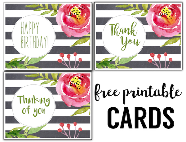 Free printable greeting cards thank you thinking of you birthday free printable greeting cards thank you thinking of you birthday m4hsunfo Choice Image