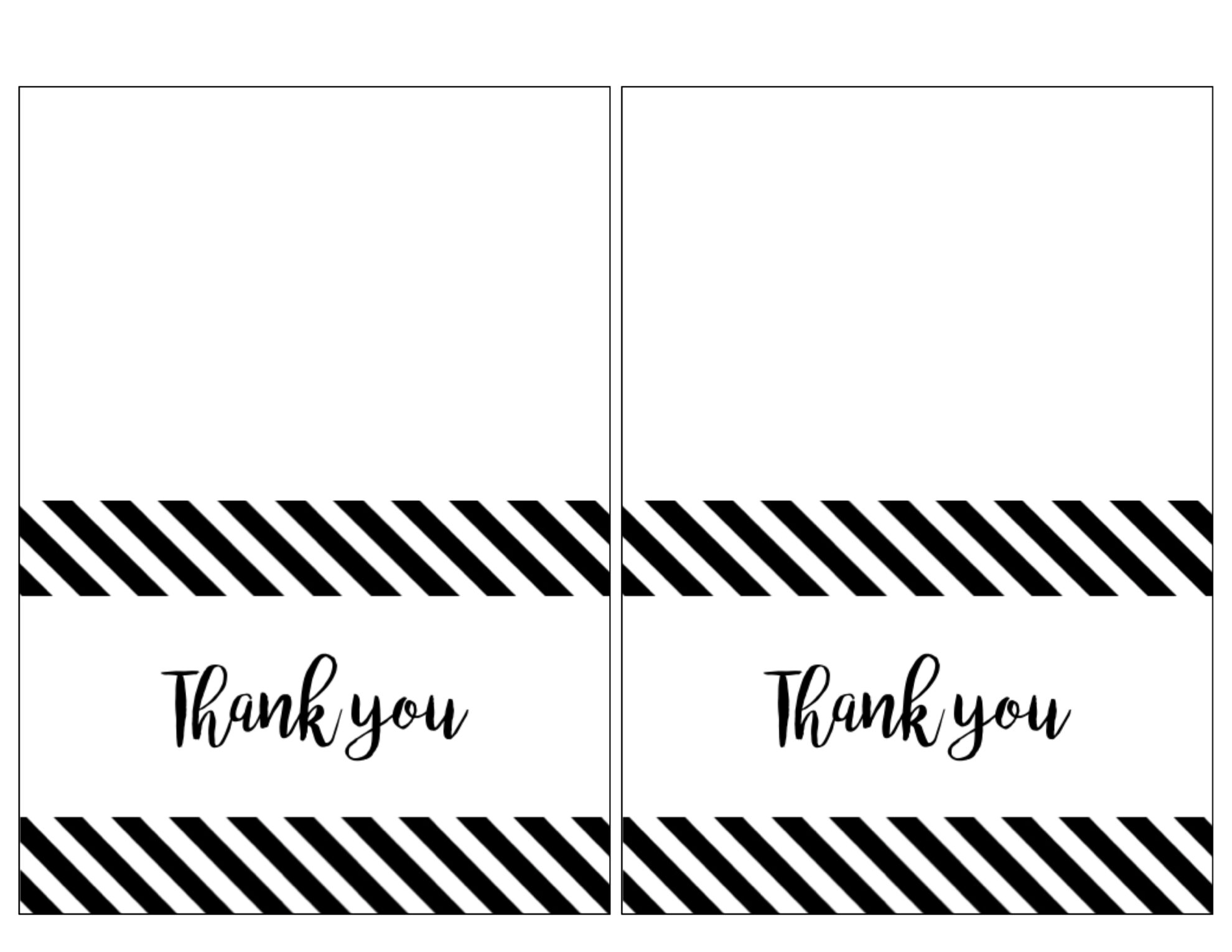 photo about Printable Thank You Cards Black and White titled Free of charge Printable Thank Yourself Playing cards For Instructors Black And White