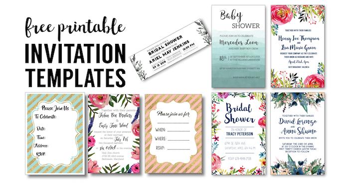 party invitation templates free