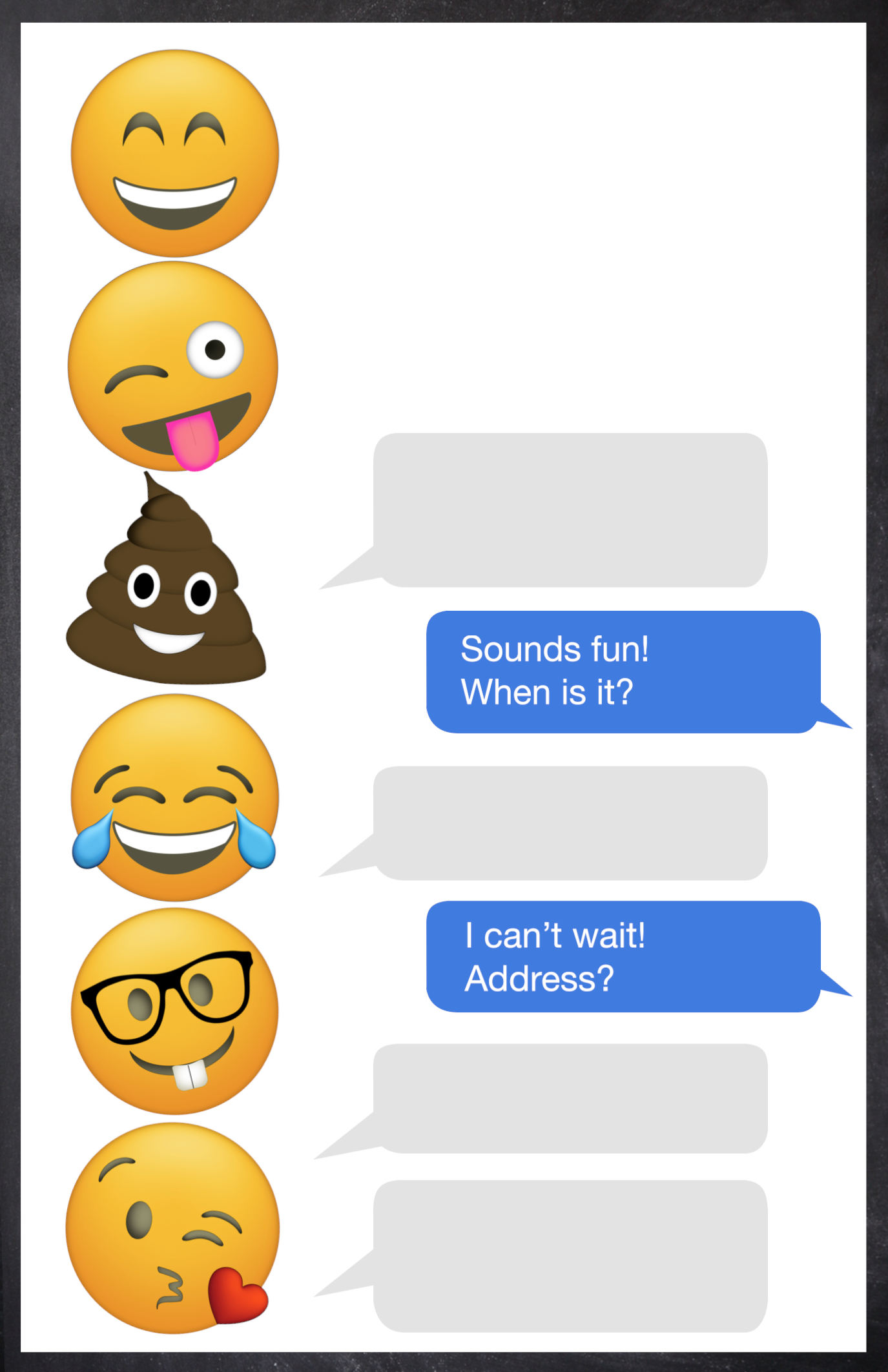 emoji party invitations free koni polycode co