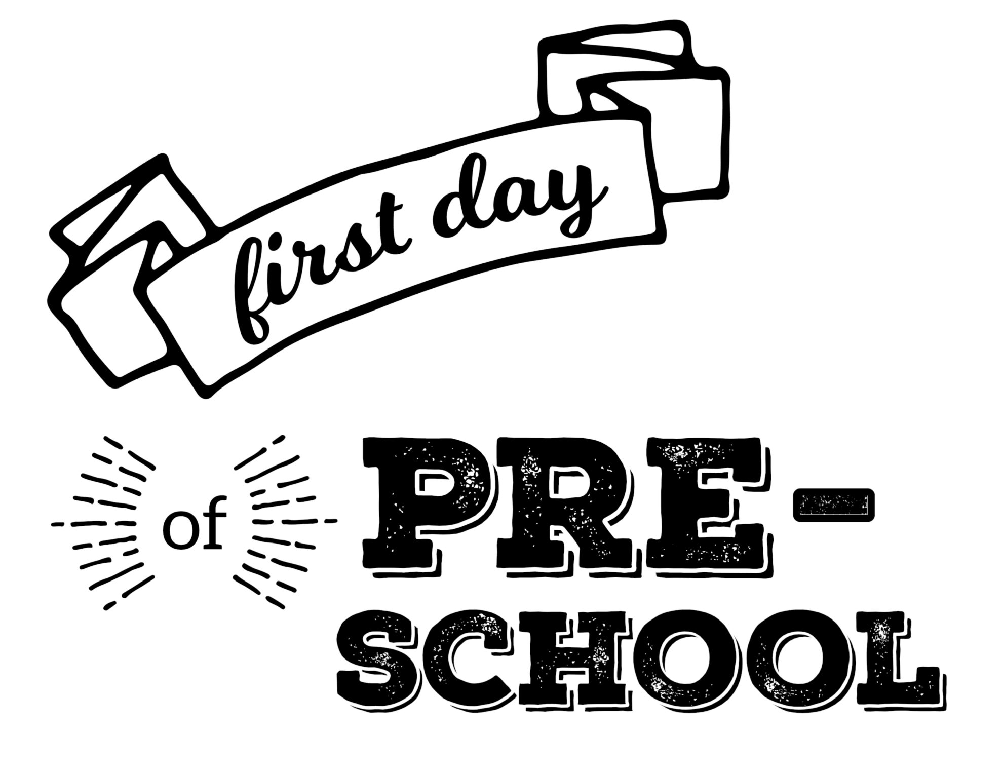 first day of school Separation anxiety is a very common problem for preschool children, especially during the first few weeks of school you may also see some separation anxiety in.
