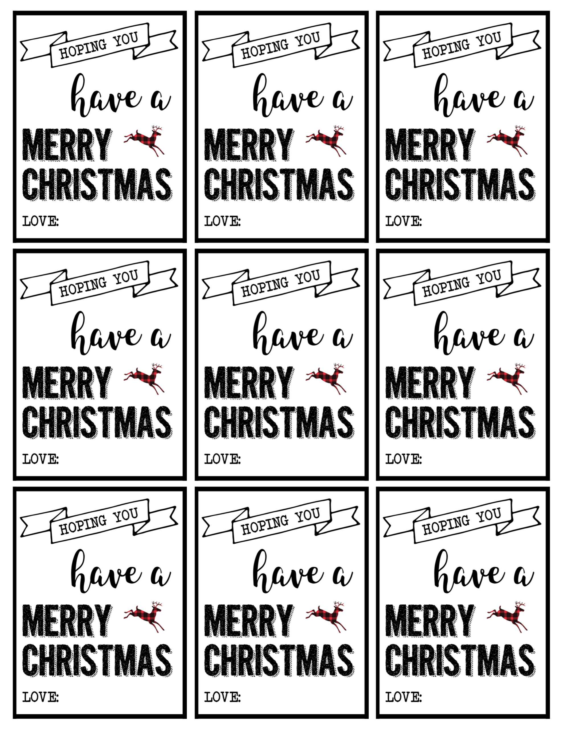 graphic relating to Free Printable Santa Tags identify Xmas Labels Printable Cost-free Xmas Reward Tags