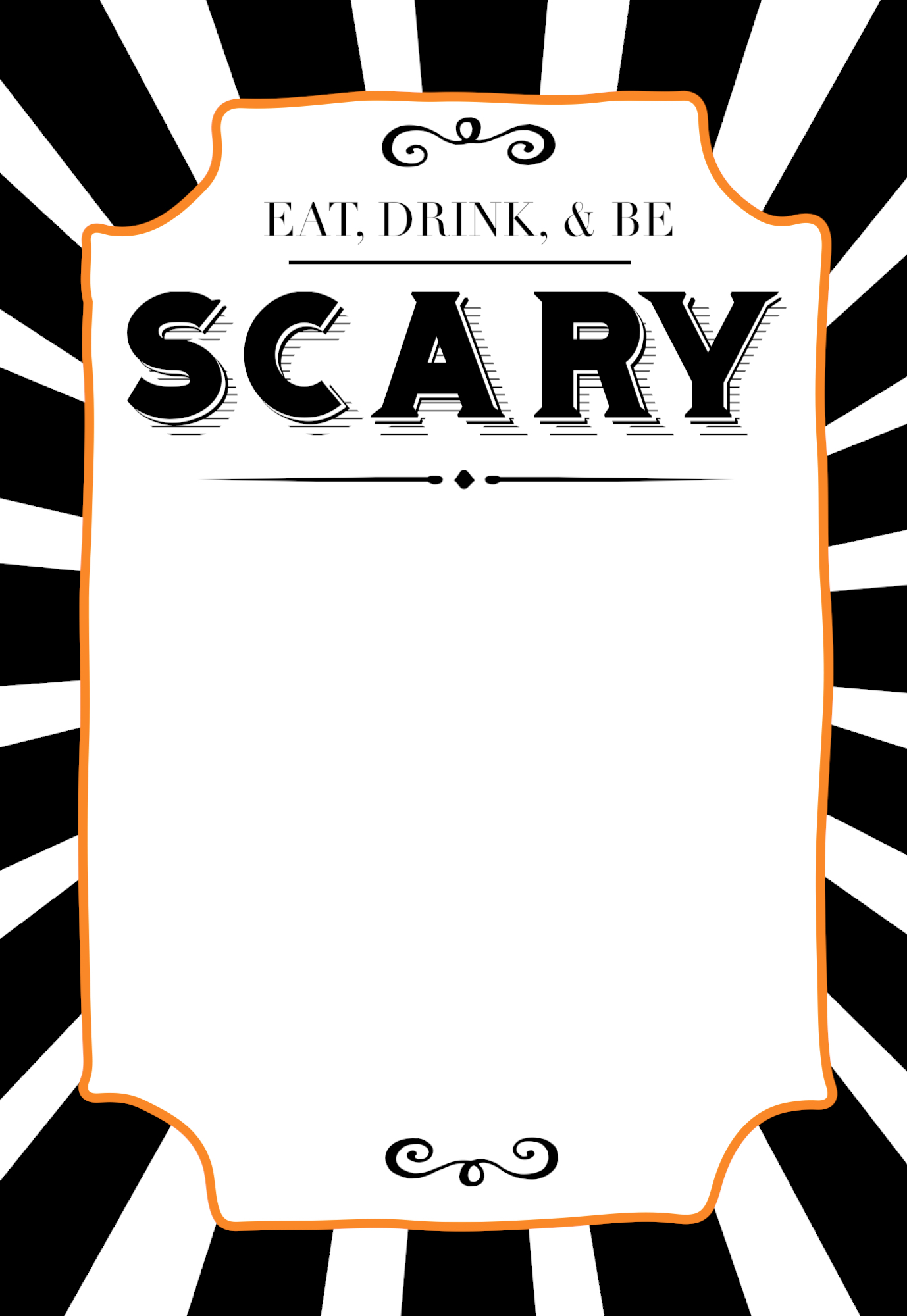 halloween invitations free printable template easy diy halloween invitations templates for your spooky halloween party - Free Halloween Templates