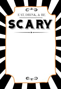 halloween party invitation templates free printable