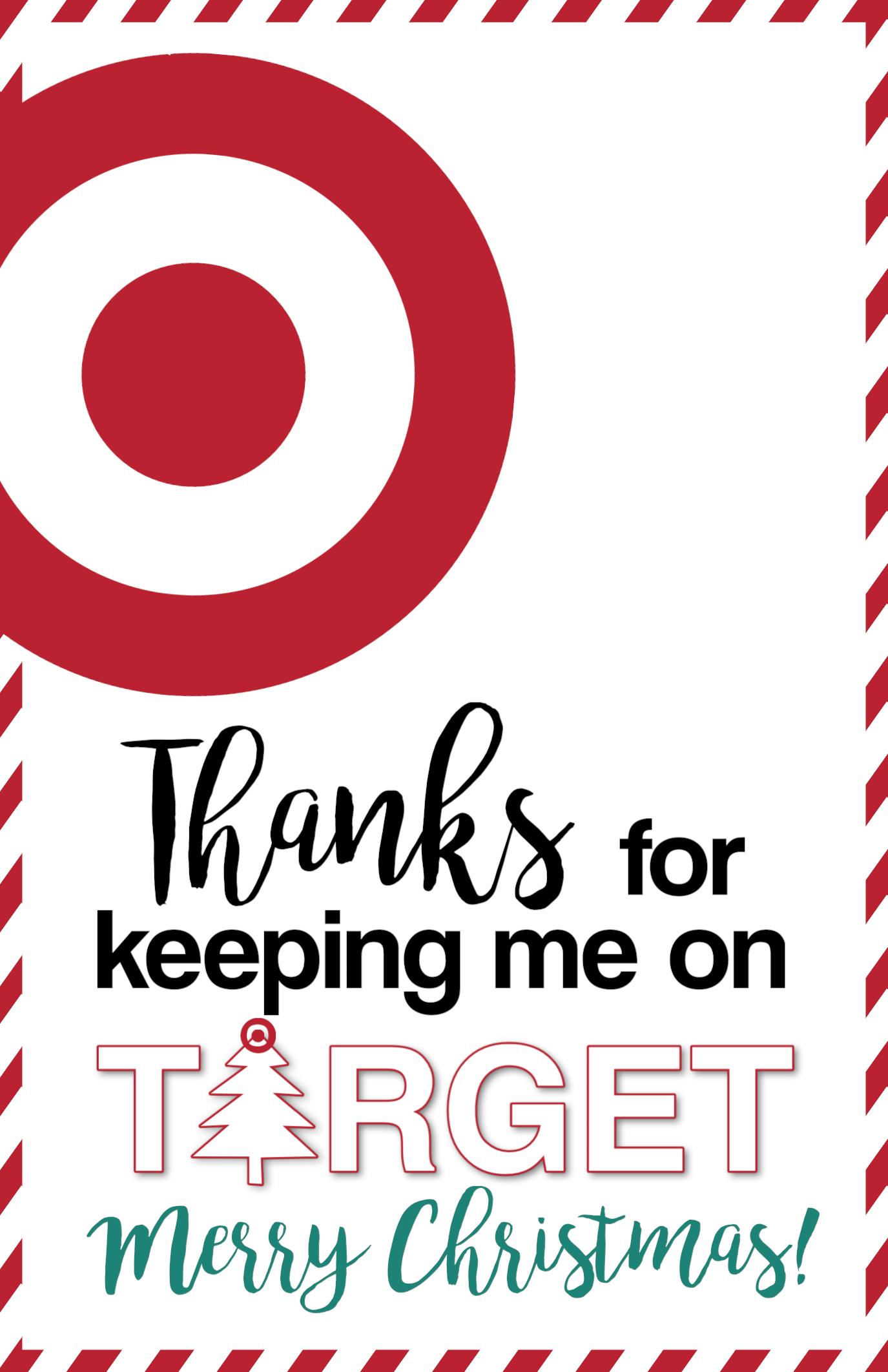 Target Christmas T Card Holders Teachers Friends