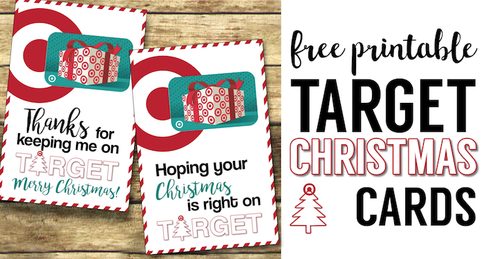 target christmas gift card holders teachers friends neighbors