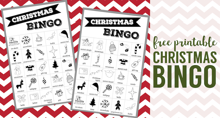 image about Free Printable Christmas Bingo Cards known as No cost Xmas Bingo Printable Playing cards - Paper Path Design and style