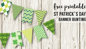 DIY St. Patrick's Day Decorations Printable Banner