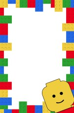 Free Printable Lego Birthday Party Invitation Template. Editable DIY kids birthday party invitaiton or lego baby shower invitation. #papertraildesign #legobirthdayparty #babyshower #DIYbirthday