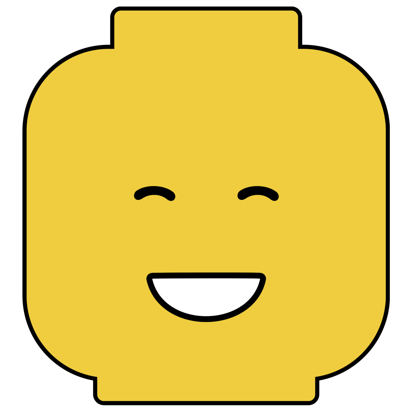 picture regarding Printable Lego Faces known as Pin the Brain upon the Lego Gentleman Social gathering Video game Totally free Printable