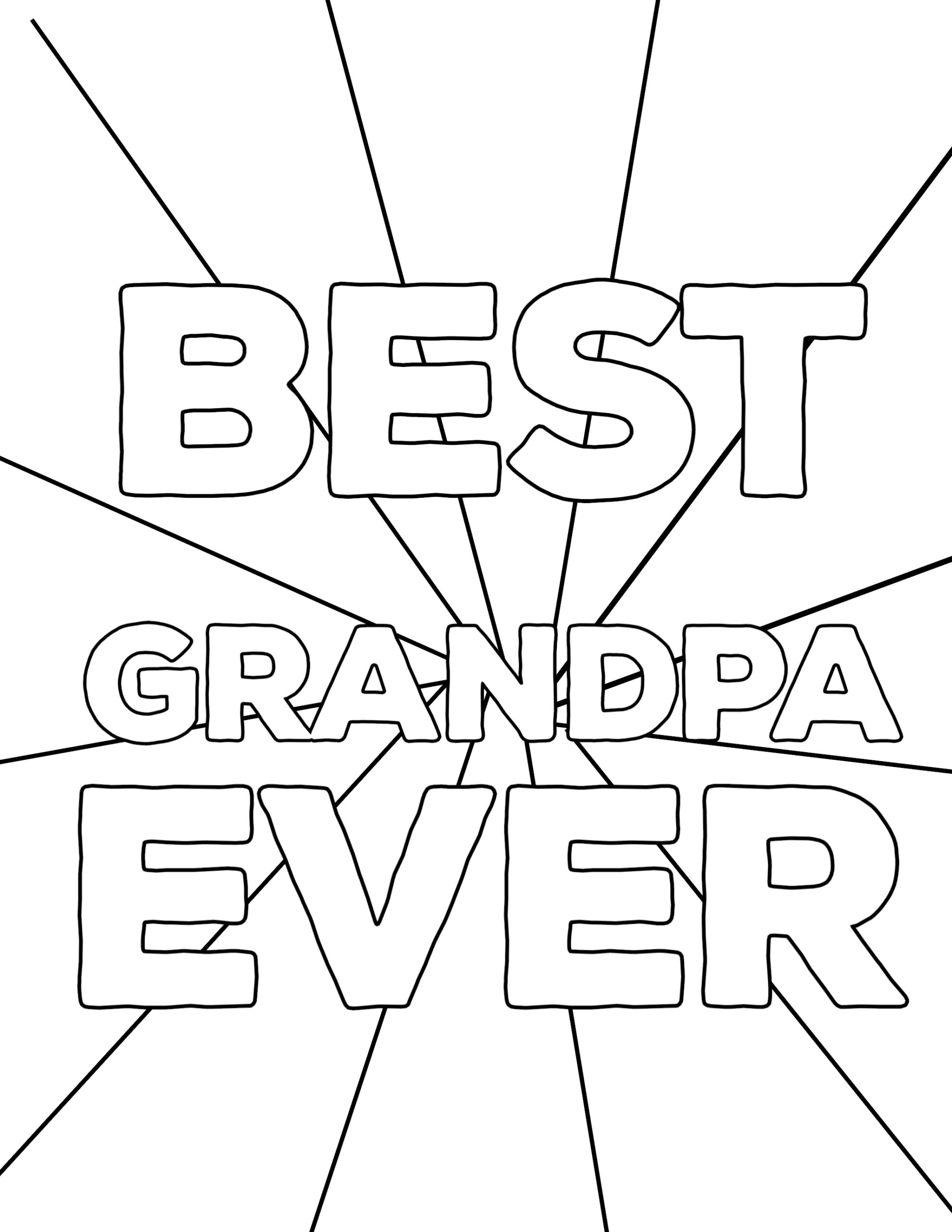 Happy Father\'s Day Coloring Pages Free Printables - Paper ...