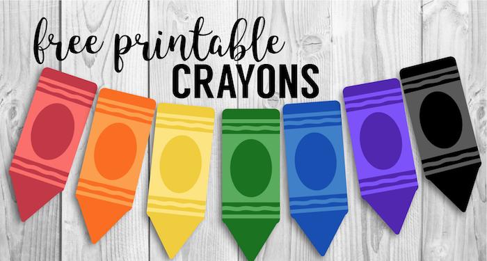 free crayon banner