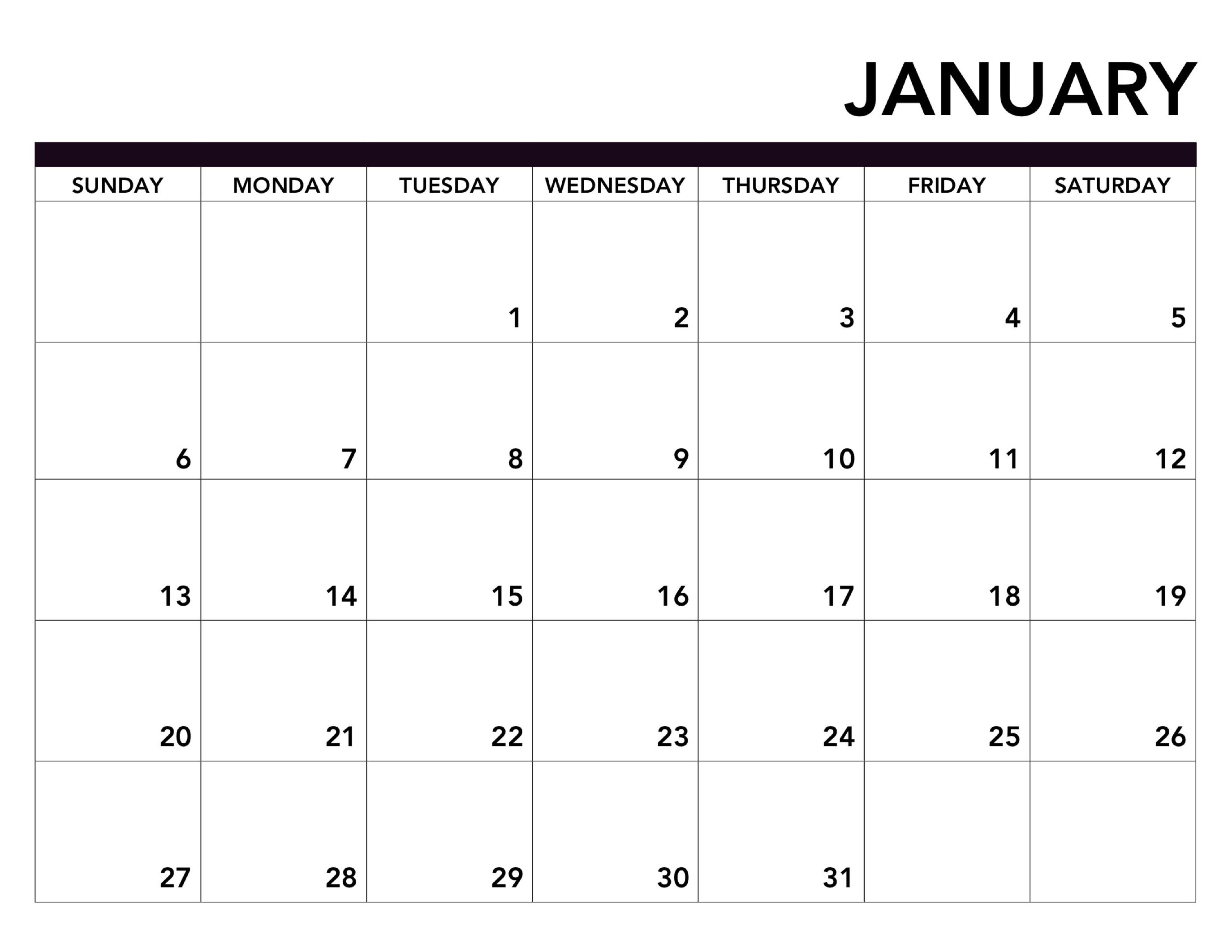 Printable Calendar Pages 2019 2019 Printable Calendar Free Pages   Paper Trail Design