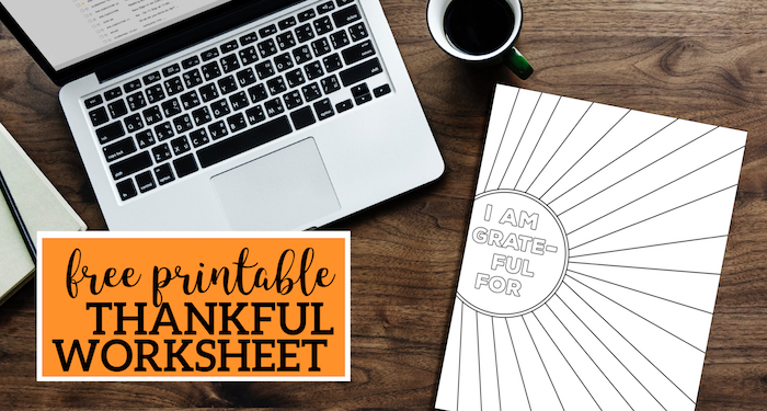 Printable Worksheets For Adults : I am thankful for worksheet free printable paper trail design
