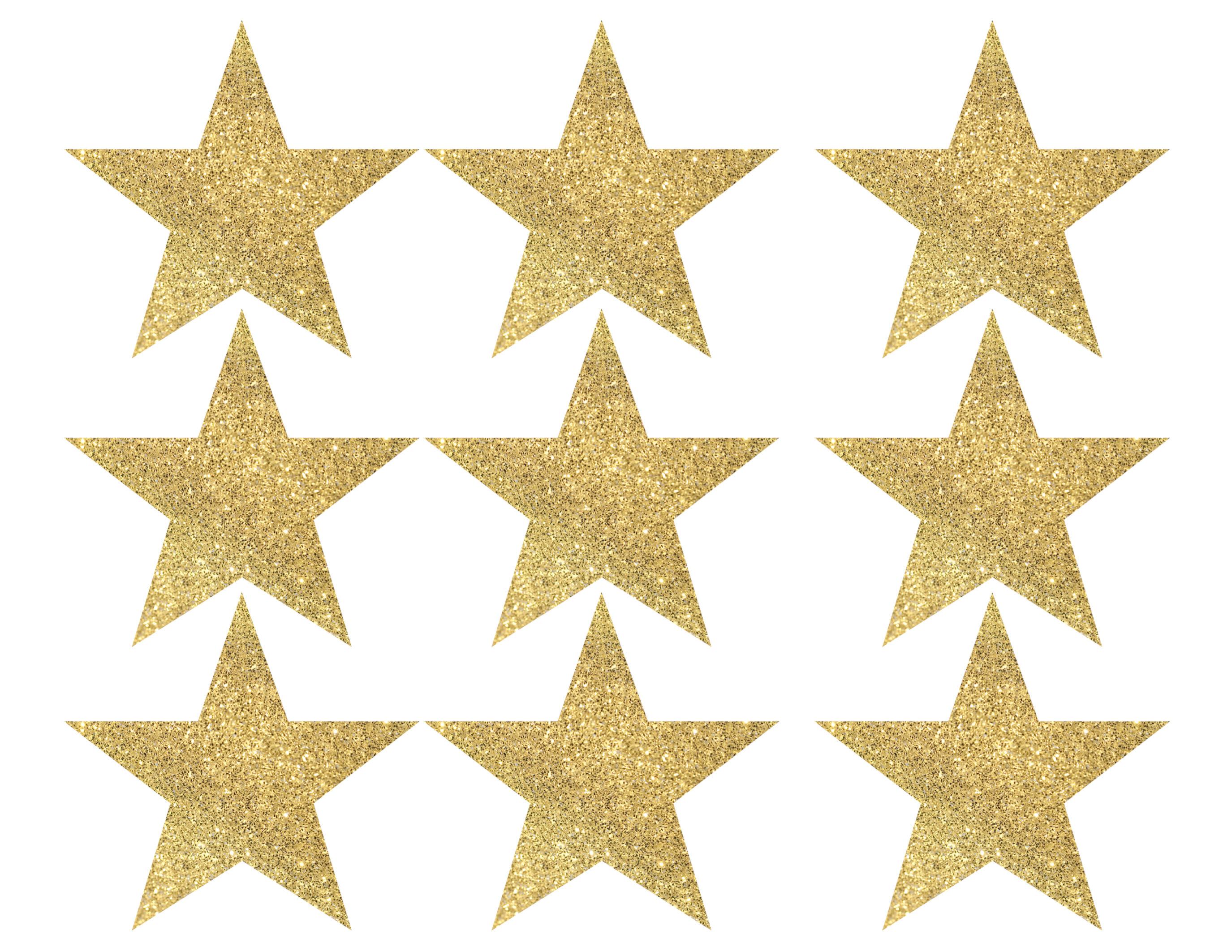 picture regarding Christmas Star Printable called Gold Star Banner Xmas Garland Printable - Paper Path