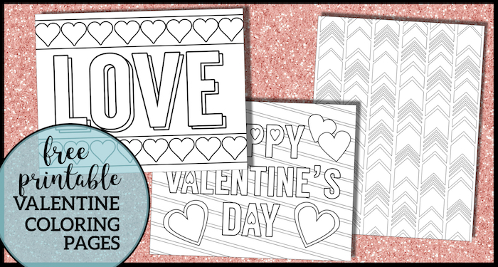 image about Free Printable Valentine Cards for Adults known as No cost Printable Valentine Coloring Internet pages - Paper Path Design and style