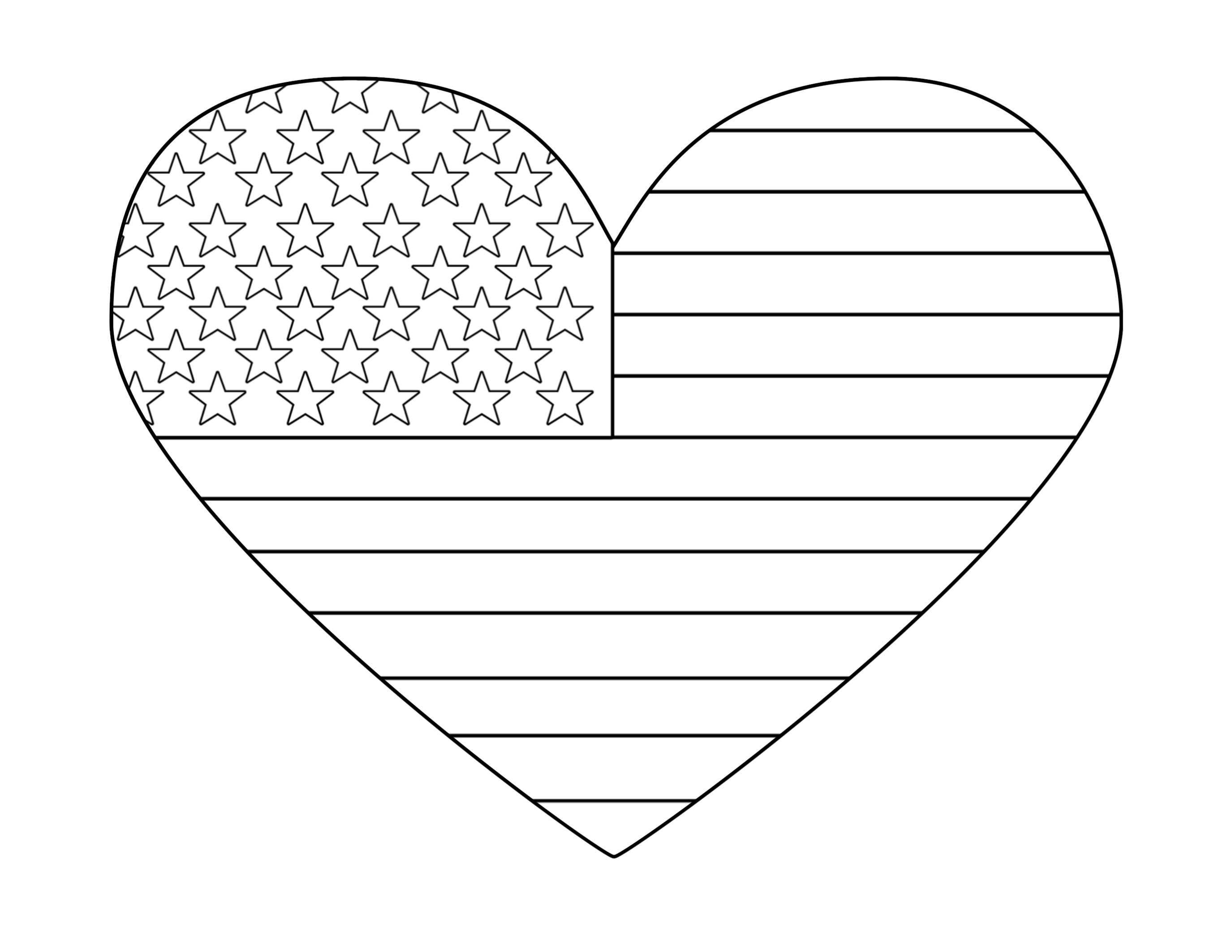 Free Printable 4th of July Coloring Pages - Paper Trail Design