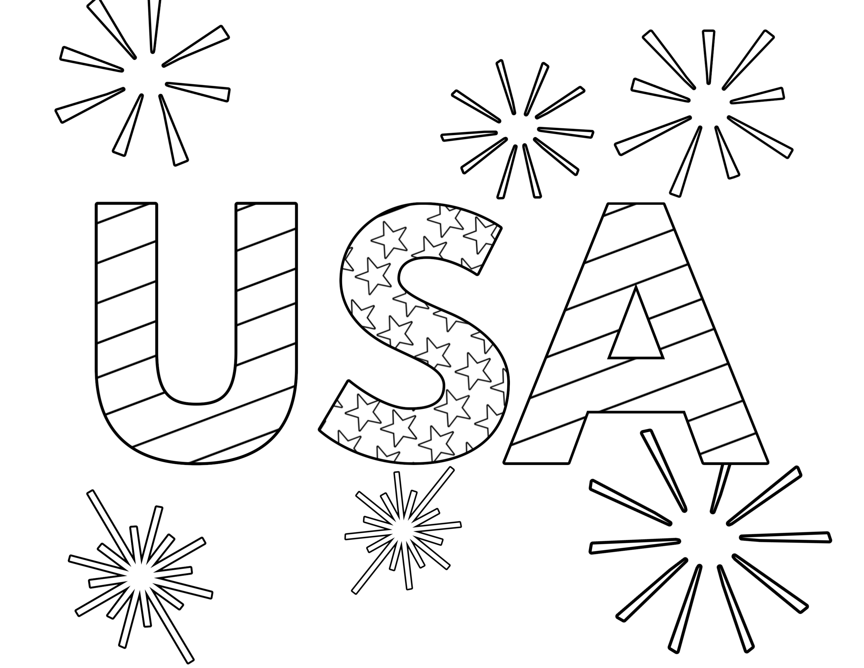 photograph regarding Free Printable 4th of July Coloring Pages named Totally free Printable 4th of July Coloring Internet pages - Paper Path Layout