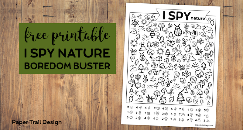 photo regarding Outdoor Code Printable identified as Free of charge Printable I Spy Emoji Video game - Paper Path Style