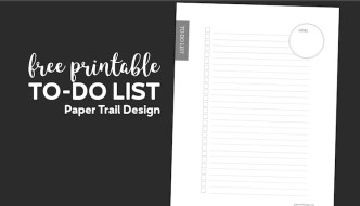 To-do checklist with an area to write your goal with text overlay- free printable to-do list
