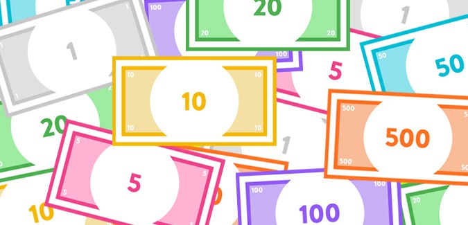 graphic regarding Printable Monoply Money titled Monopoly Financial - PAPERZIP