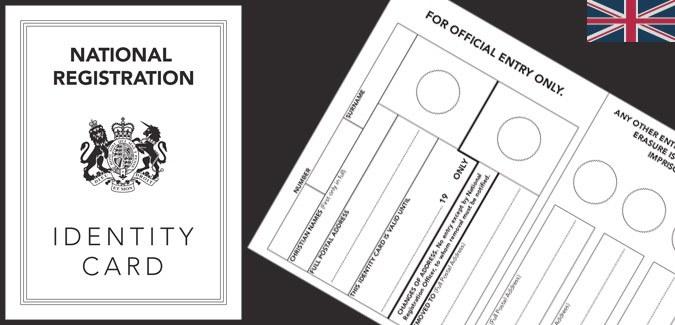 World War 2 Identity Card - PAPERZIP