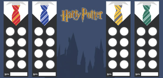 harry potter bookmarks free classroom