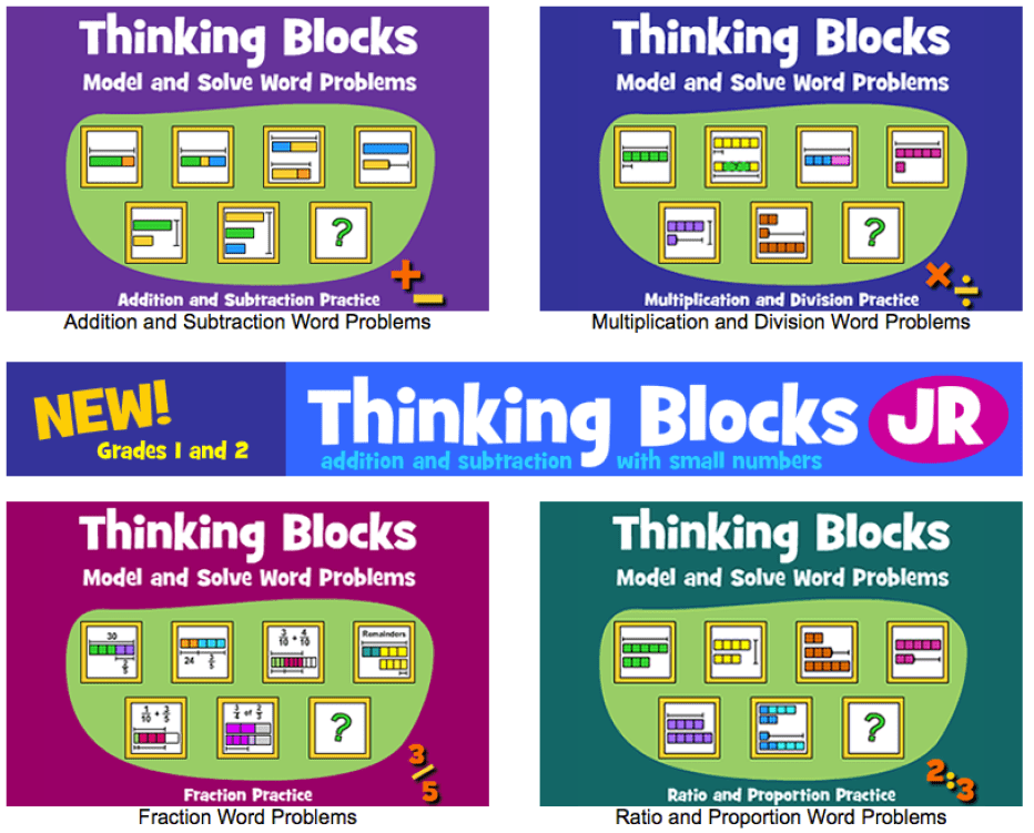 Thinking blocks by math playground paperzip thinking blocks is a brilliant tool to help you improve your problem solving skills in maths you are taken through the problem step by step in a very clear ibookread ePUb