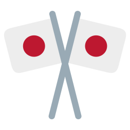 crossed-japanese-flags