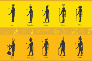 ancient egypt border printable classroom