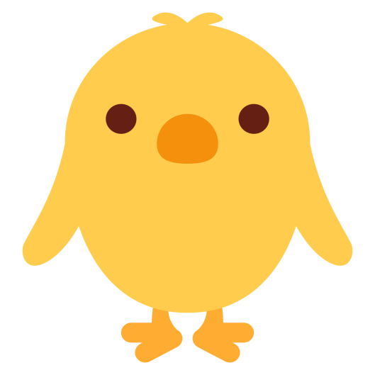 frint-facing-baby-chick