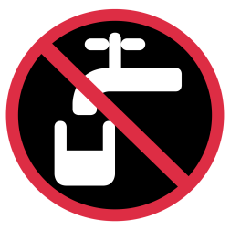 no-drinking-water