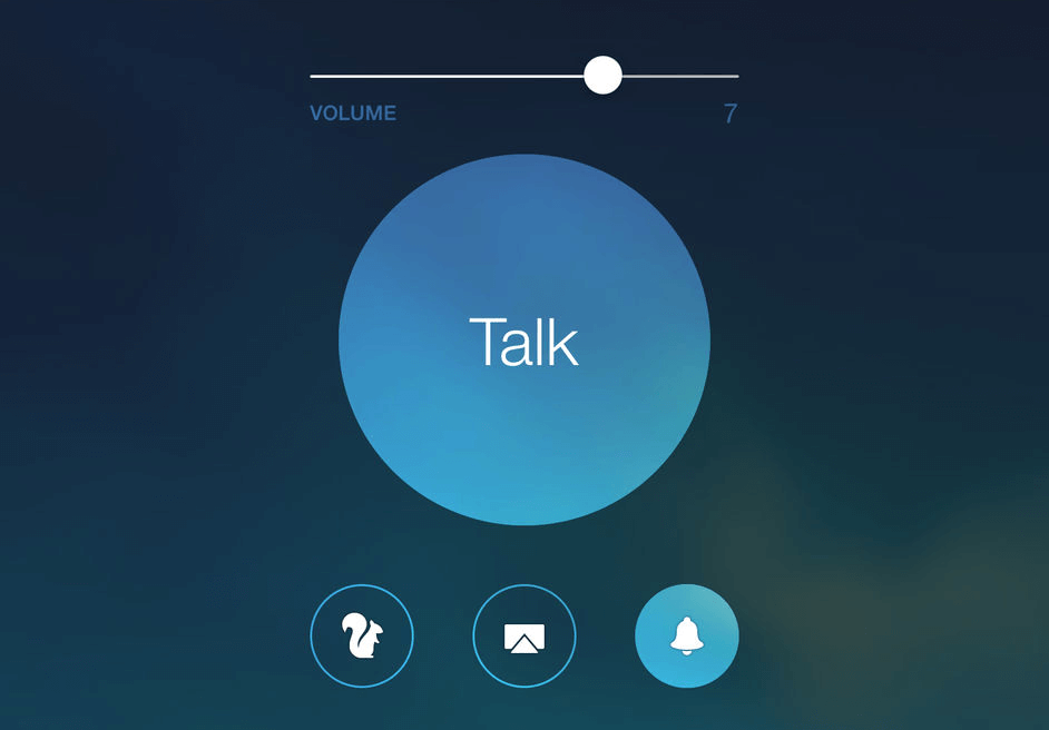 airplay intercom app for ipad