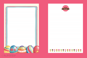 free easter writing templates for schools