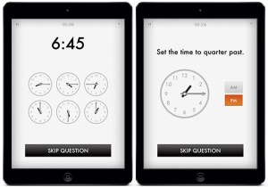 quick clocks learn time app for ipad