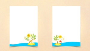 summer writing templates free printable