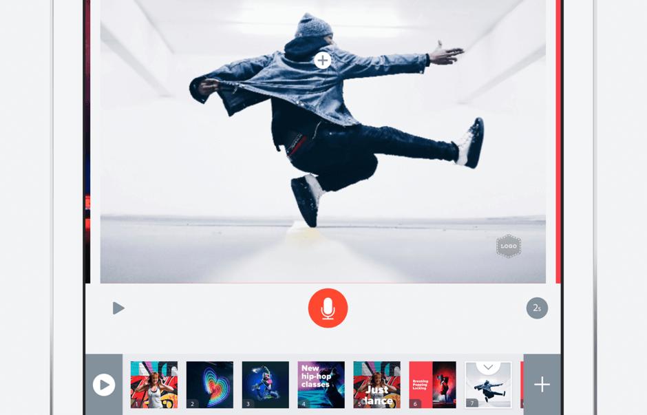 adobe spark moviemaking app ipad