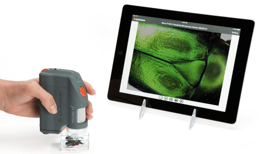 microscope for android iphone ipad