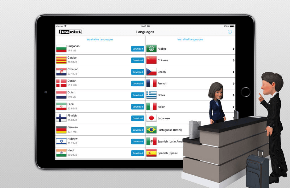 travel interpreter phrasebook app for ipad